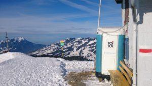 登山とトイレ
