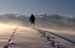 冬季ハイキングの5つのヒント